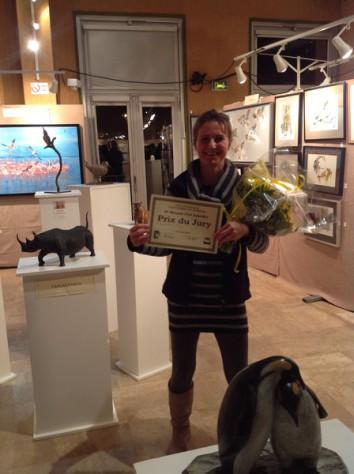prix olivia tregaut salon art animalier