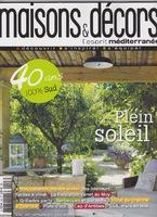 olivia tregaut sculpture article maisons & décors mediterranée aout-septembre 2014