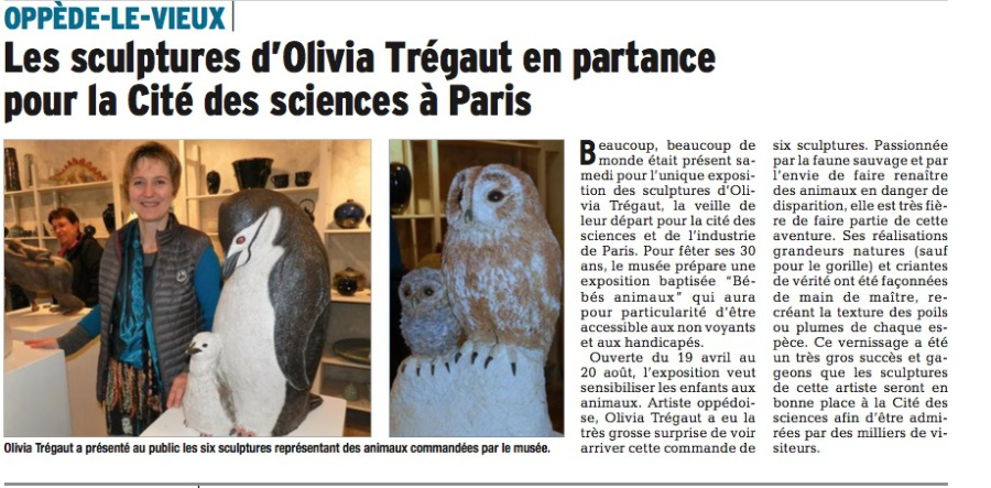 press review  articles de presse sur olivia tregaut